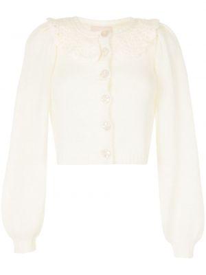 Biały sweter moherowy Bytimo