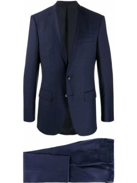 Garnitur kostium niebieski Boss Hugo Boss