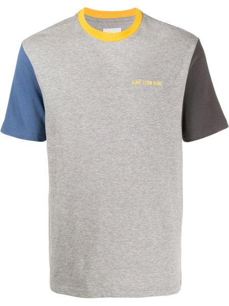 T-shirt z haftem krótki rękaw Aime Leon Dore