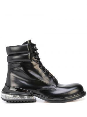 Черные ботинки на шнуровке Maison Margiela