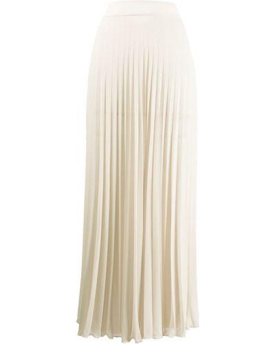 Плиссированная юбка с завышенной талией макси Filles A Papa