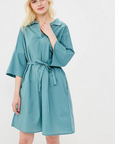 Бирюзовое платье Befree