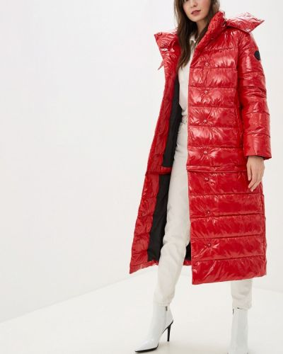 Утепленная куртка - красная Odri Mio