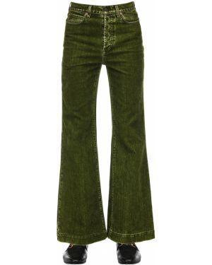 Расклешенные джинсы свободная джоггеры Gucci