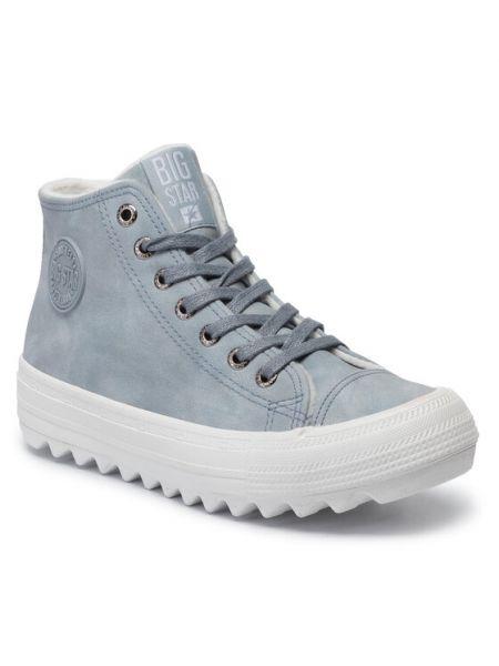 Niebieskie sneakersy Big Star