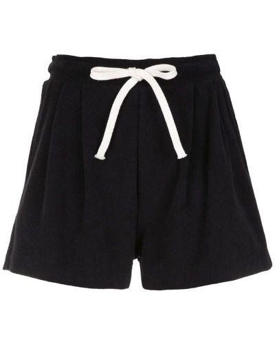 Черные шорты с карманами Osklen