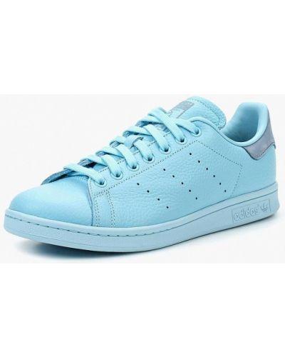 Голубые кеды Adidas Originals