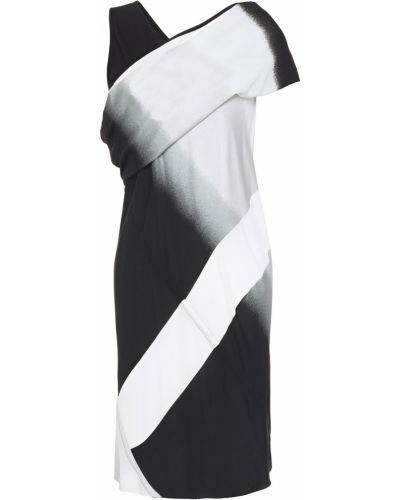 Sukienka mini bawełniana - czarna Rick Owens