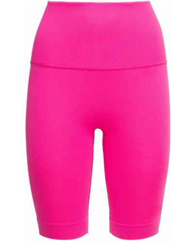 Rajstopy - różowe Adidas Performance