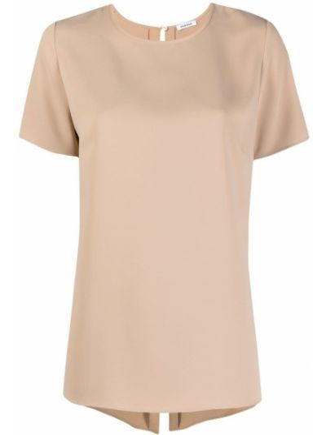 Блузка с короткими рукавами с вырезом круглая P.a.r.o.s.h.