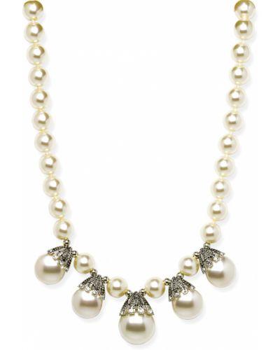 Ожерелье с жемчугом бежевый Honey