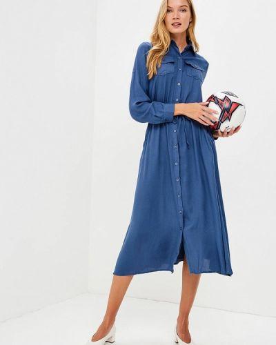 Платье синее Marissimo