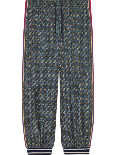 Bawełna ze sznurkiem do ściągania bawełna zielony majtki Gucci