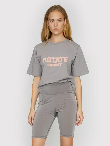 Szara t-shirt Rotate
