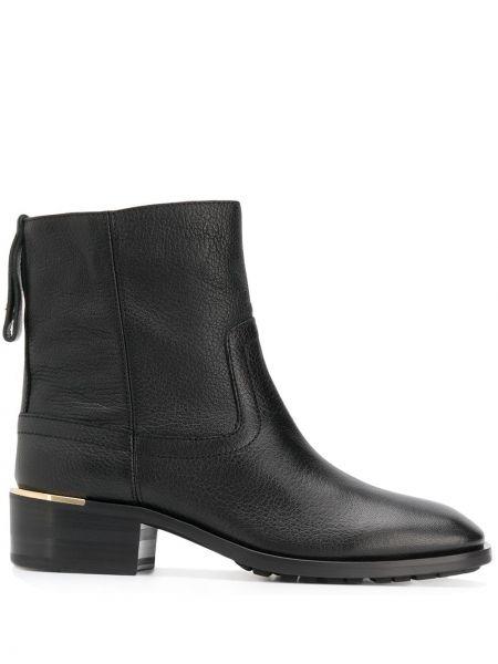 Buty na obcasie na pięcie czarne Jimmy Choo