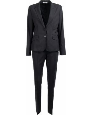 Шерстяной костюм - черный Van Laack