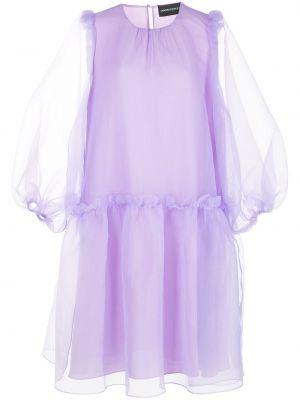 Платье из фатина - фиолетовое Cynthia Rowley