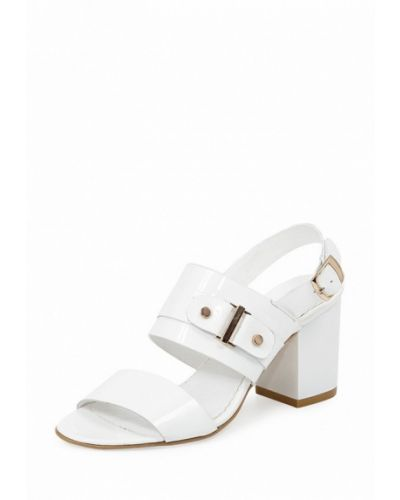 Белые босоножки на каблуке Roberto Netti
