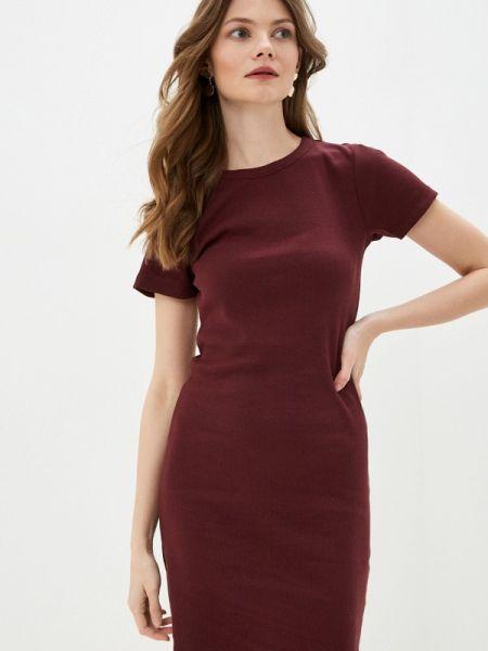 Платье футболка красный Brave Soul
