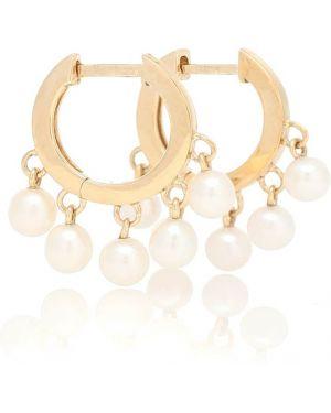 Kolczyki pierścionki kolczyki ze sztyftem z perłami Sydney Evan