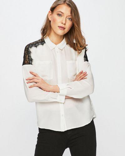 Блузка с длинным рукавом прямая на пуговицах Vero Moda