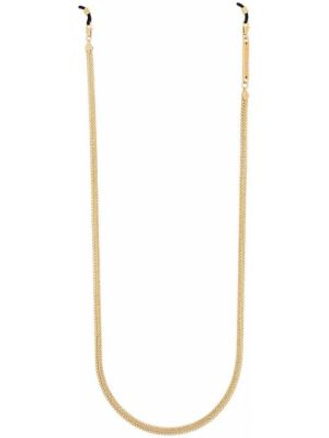 Złote okulary Frame Chain