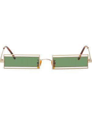 Okulary przeciwsłoneczne zielony Han Kjobenhavn