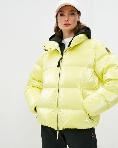 Желтая зимняя куртка Parajumpers
