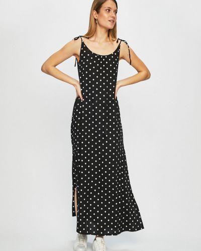 Прямое платье макси с вырезом Femi Stories