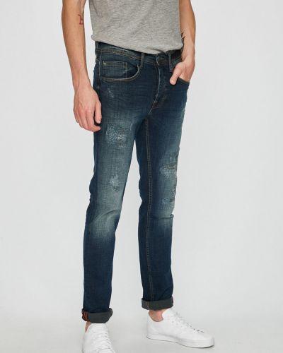Джинсы-скинни с карманами синий Blend