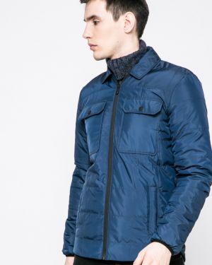Синяя утепленная куртка Only & Sons