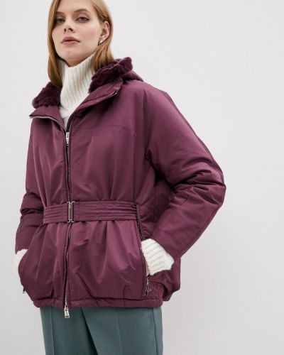 Теплая фиолетовая утепленная куртка Add
