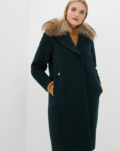 Пальто - зеленое Emi