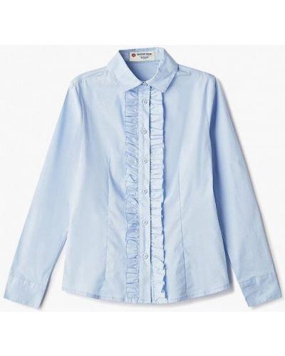 Блуза голубой синий Button Blue
