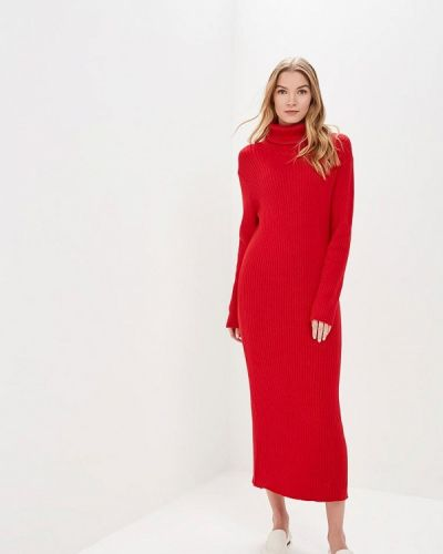 Платье весеннее красный By Swan