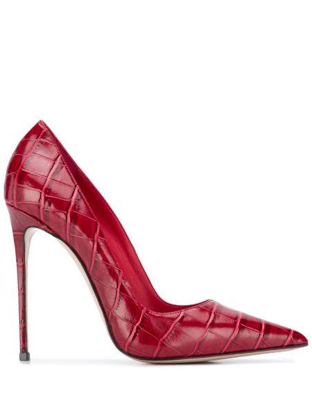 Красные туфли-лодочки на каблуке на высоком каблуке Le Silla