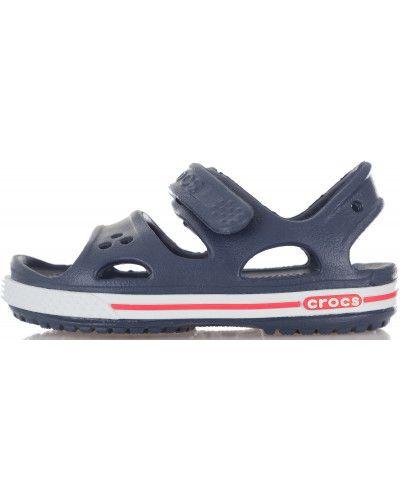 Спортивные сандалии на липучках яркие Crocs