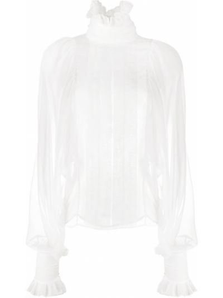 Белая блузка с воротником Philosophy Di Lorenzo Serafini