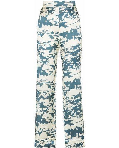 Шелковые брюки Asceno