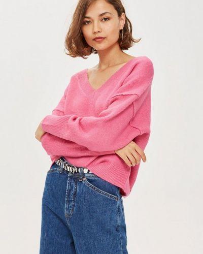 Розовый пуловер 2018 Topshop