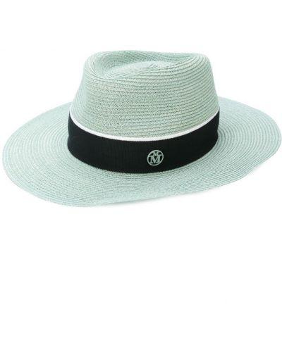 Синяя шапка Maison Michel