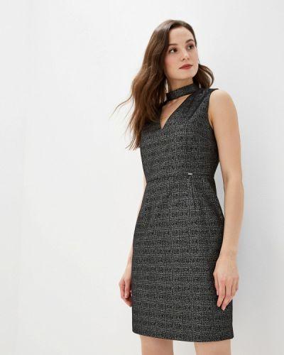 Платье серое прямое Gaudi