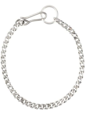 Облегченная серебряная цепочка на крючках Emanuele Bicocchi