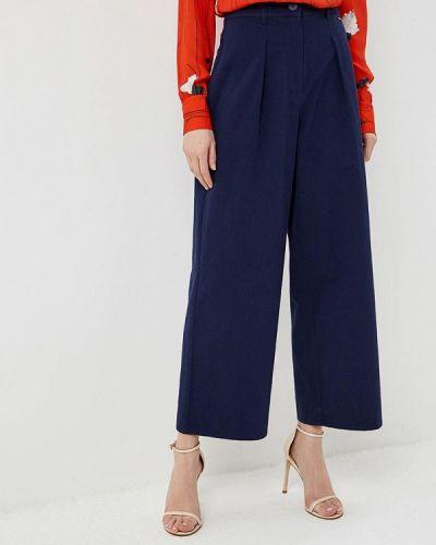 Синие брюки повседневные Armani Exchange