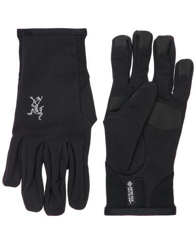 Czarne rękawiczki Arcteryx