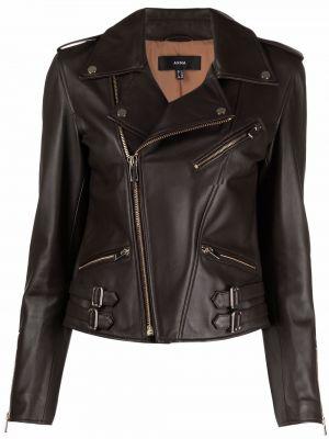Кожаная куртка - коричневая Arma