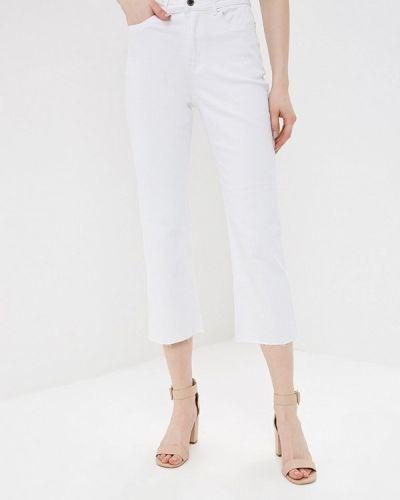 Прямые джинсы белые Lost Ink.