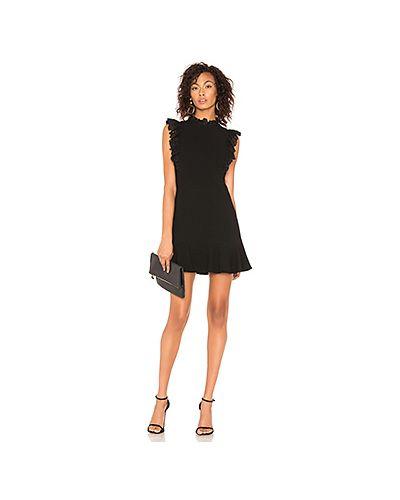 Платье со складками на молнии Rebecca Taylor