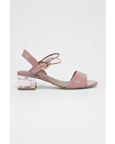 Туфли на каблуке сиреневый фиолетовый Tamaris