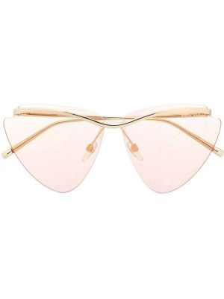 Розовые очки металлические Marc Jacobs Eyewear
